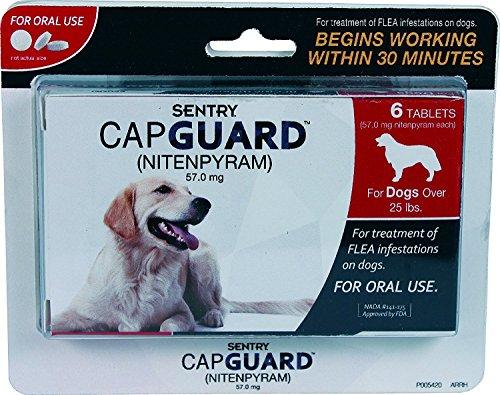 SENTRY CAPGUARD FLEA TABLETS - DOG