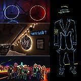 TGHCP-8 Pack 9FT Neon Glowing EL Wire