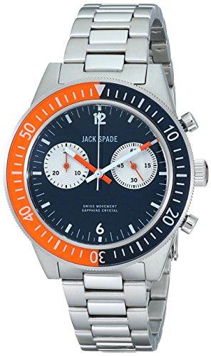 Jack Spade Men's WURU0086 Davison Analog Display Swiss Quartz Silver Watch (Jack Spade Watch)