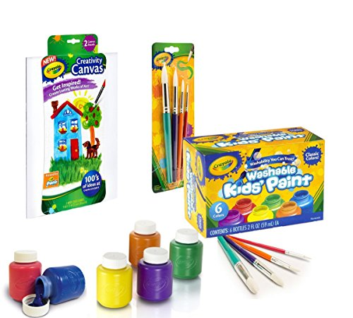 Crayola Washable Kid's Paint (6 count) (Paint Art Set)