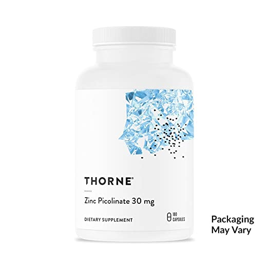 Product thumbnail for Thorne Research - Double Strength Zinc Picolinate