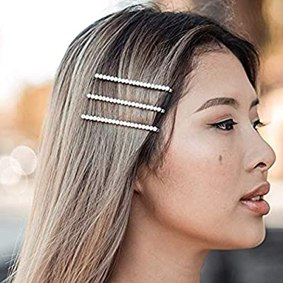 Kitsch Fashion Bobby Pin Set, Hair Pins for Women, Hair Accessories for Women, Rhinestone, 3 Pack