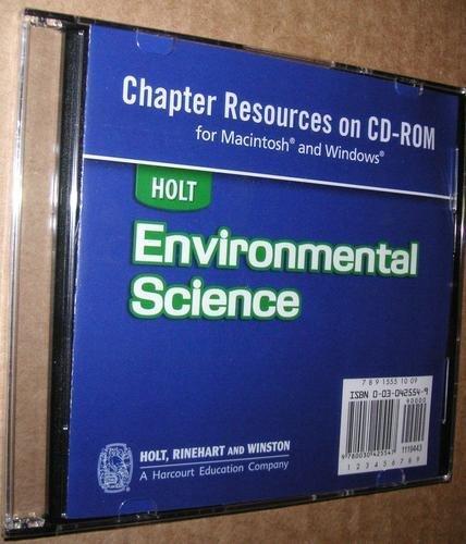 Holt Environmental Science: Transparencies CD-ROM