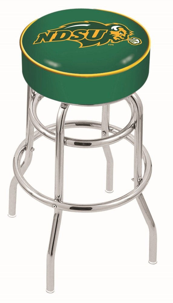 Holland Bar Stool L7C1 North Dakota State University (green) Swivel Counter Stool, 25''