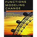 Functions Modeling Change, Textbook and Student Solutions Manual: A Preparation for Calculus