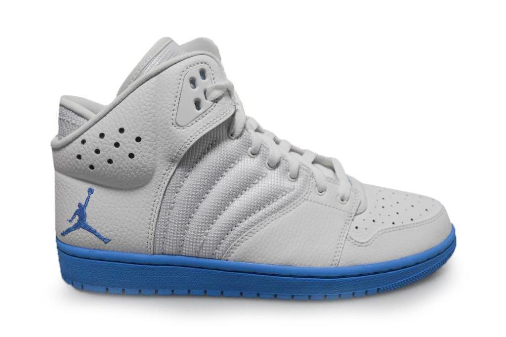 Nike Herren Jordan 1 Flight 4 Kinderwagen Basketballschuhe  11 UK|wei? university blau wei? 141