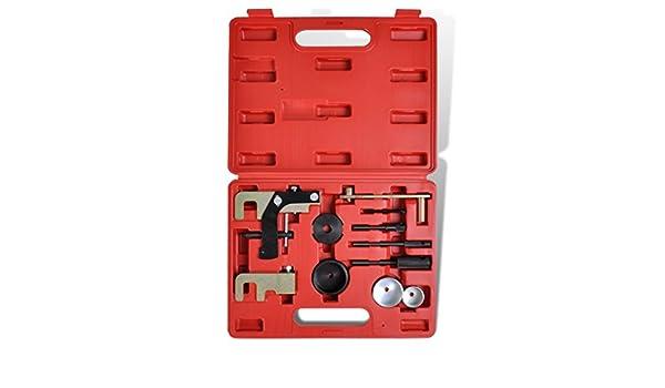 Festnight Coffret de Calage Kit dOutil dAjustement du Moteur dOutils de Opel Renault Nissan: Amazon.es: Bricolaje y herramientas