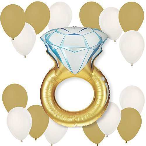 Engagement Ring Party Balloon Kit product image