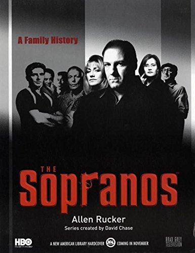 SOPRANOS, THE (1999) Standee series' first season book version by A. Rucker RARE