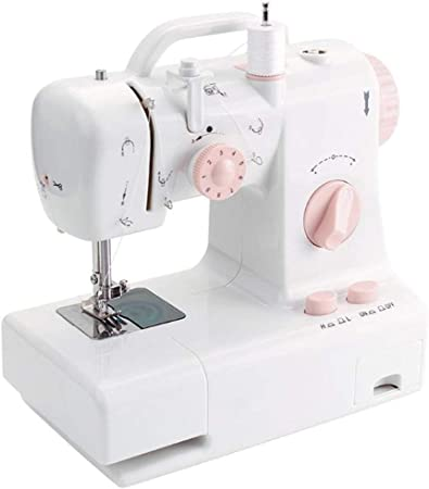 Hogar y Cocina Máquinas de Coser Eléctrico multifuncional puede invertirse Máquinas de coser de doble hilo