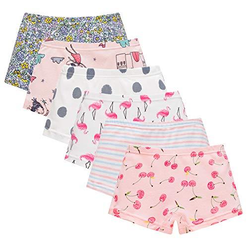 Boboking Baby Soft Cotton Girls Panties Little Girls'Briefs Toddler Underwear Kids Undies - Soft Underwear Girls