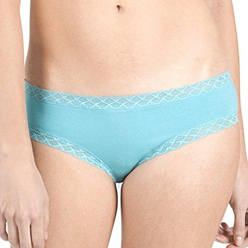 Natori Women's Bliss Girl Brief, Gem Turquoise, M