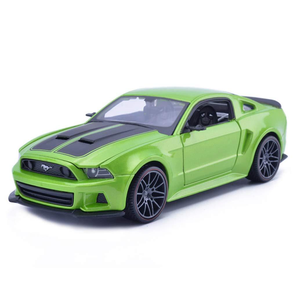 edición limitada en caliente verde verde verde ZHPBHD Simulación súper Modelo de Coche Corriente Modelo de aleación de Juguetes Modelo 1 24 Adornos colección de Joyas Modelo (Color   verde)  promociones de descuento