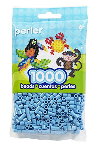 (Bulk Buy: Perler Beads 1,000 Count Pastel Blue (3 Pack))