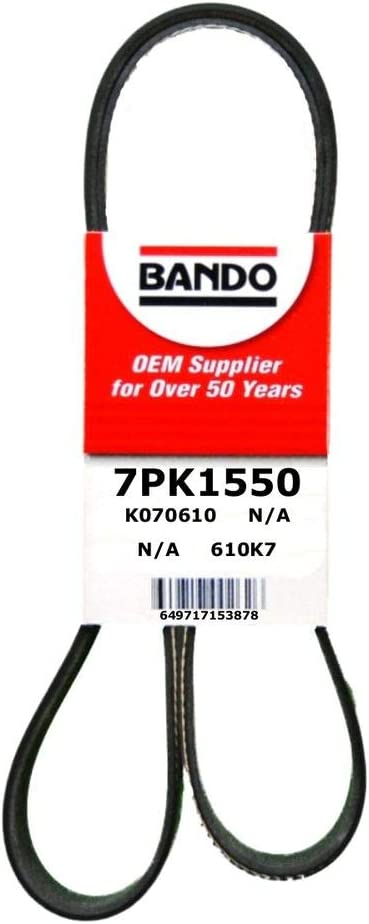 Bando USA 7PK1550 Serpentine Belt