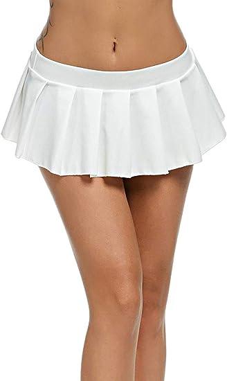 Mini Jupe Plissee Courte Pour Femme Amazon Fr Vetements Et Accessoires
