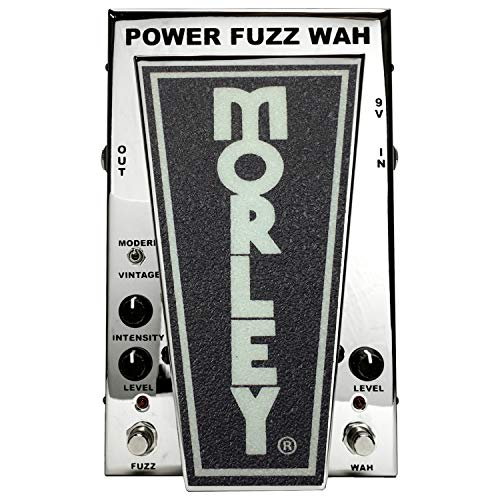 Morley Cliff Burton Tribute Series Power Fuzz Wah Effect Pedal (Limited Edition Chrome)