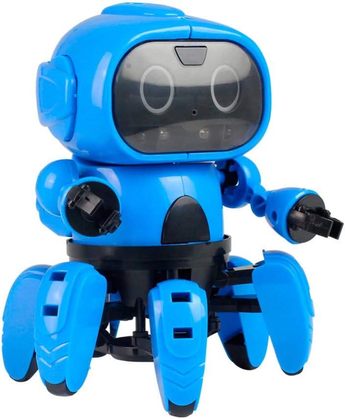 RC TECNIC Kit Robótica para Niños Six | Robot para Montar, Control por Gestos y Sensor De Obstáculos | Juguetes Educativos Construcciones para Niños | Robotica Educativa Ciencia
