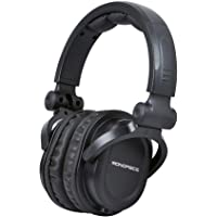 Deals on Monoprice Premium Hi-Fi DJ Style Over-The-Ear Pro Headphones