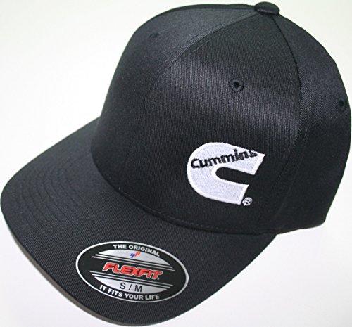 cummins-flexfit-flex-fit-fitted-hat-dodge-diesel-blackl-xl