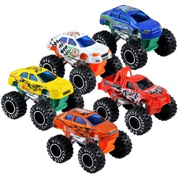 [Turbo Wheels Mini Monster Trucks, 3