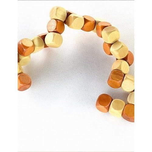 newest 038ec 24c99 modélisation durable Pdhu Mode DIY trois couches Bois Intelligence Cubes  pour enfants