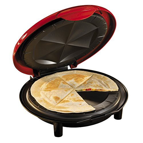 082677218063 - Nostalgia EQM200 Fiesta Series 6-Wedge Electric Quesadilla Maker with Extra Stuffing Latch carousel main 2