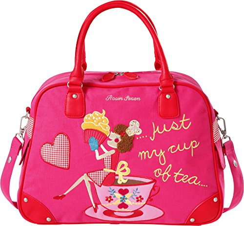 Bv Tea Cup My Bambina Rosso rot Borsa Of Mano…just F147002 A red Room Seven 5zBAx1