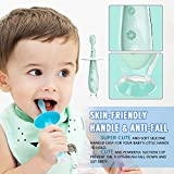Baby Toothbrush Silicone Eccomum 2 Pack Infant