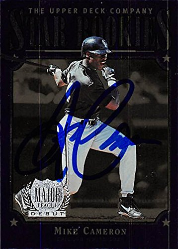 Autograph Warehouse 344755 Mike Cameron Autographed Baseball Card - Chicago White Sox44; SC 1997 Upper Deck Star Rookies No. 238