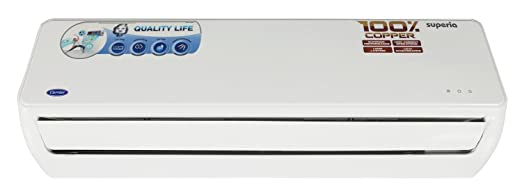 carrier 5 ton ac unit. carrier superia split ac (1.5 ton, 5 star rating, white, copper) ton ac unit
