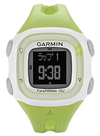 b39a537b39 GARMIN(ガーミン) ランニングウォッチ GPS 50m防水 ForeAthlete 10J グリーン 【日本正規品