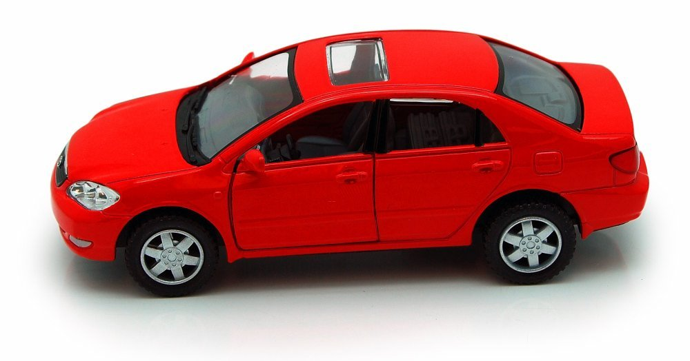 Kinsmart Toyota Corolla Red 5099D 1 36 scale Diecast Model Toy Car but NO BOX