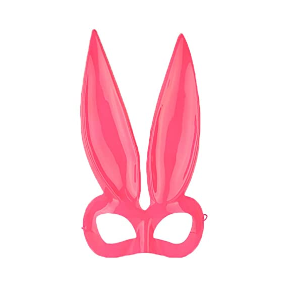 YA-Uzeun - Máscara Larga de Conejo para Disfraz de Mujer ...