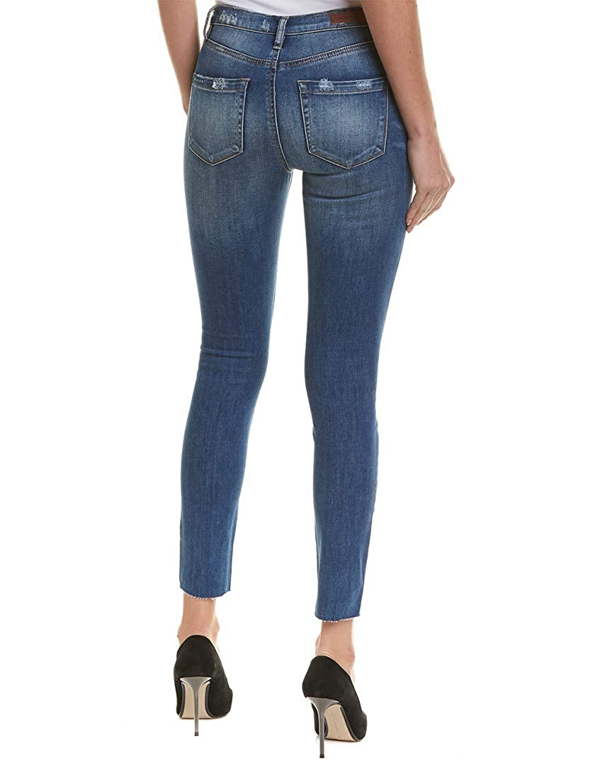 Blank NYC Womens The Bowery High Rise Skinny in Head Space