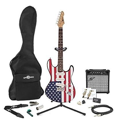 Guitarra Eléctrica LA + Pack Completo - Barras y Estrellas