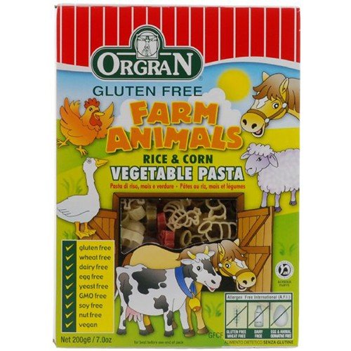 (2 Pack) - Orgran - Rice & Corn Veg Animal Shapes | 200g | 2 PACK BUNDLE