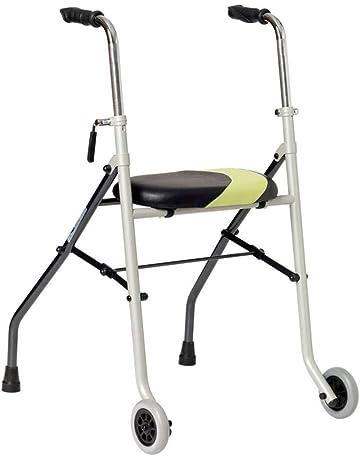 Andador muy ligero| Ayuda para las personas de movilidad reducida| Patas fijas traseras y