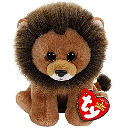 Ty Beanie Babies - Ty Beanie Babies 6 Quot 15cm Cecil The Lion Plush Regular Stuffed Animal Collection Soft Big Eyes - Peace Narwhal Secret Life Dart Millie Toys Bears Rare Duckling Alpac -