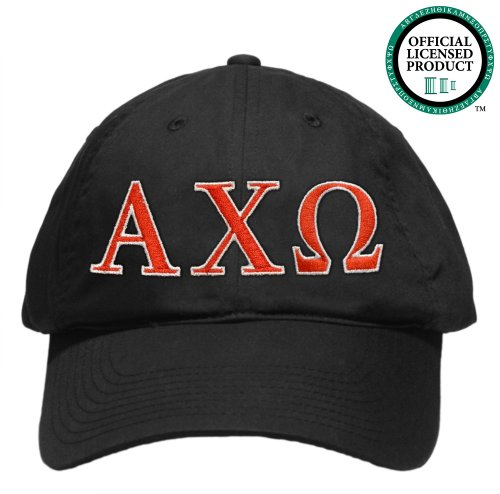 Alpha Chi Omega (AXO) Embroidered Nike Golf Hat, Various Colors