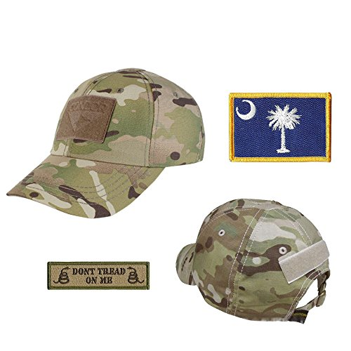 US State Operator Cap Bundle - with State & Dont Tread On Me Patches - South -