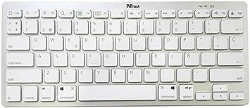 Trust Nado Es Bluetooth Qwerty Spanische Computer Zubehör