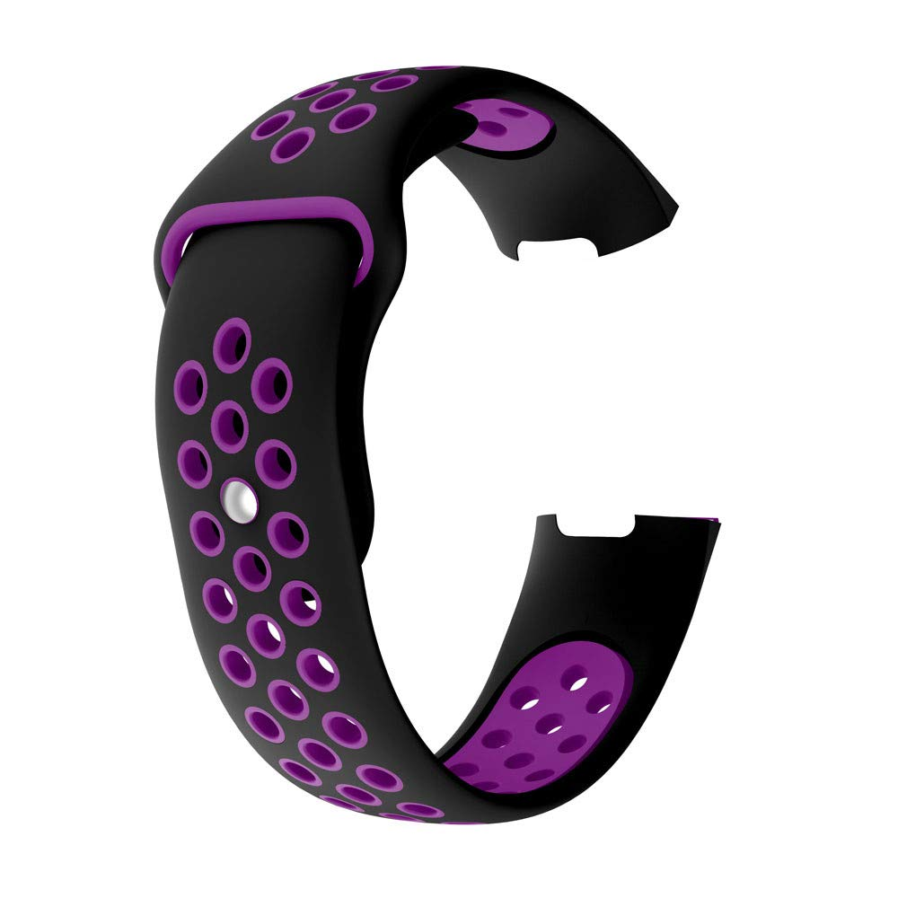 Accessory for Fitbit Charge3 Christmas Kacowpper Sports Breathable Silicone Bracelet Strap Band for Fitbit Charge 3