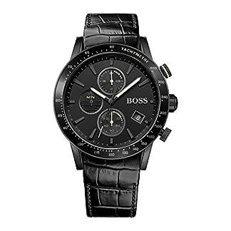 Hugo Boss Black Hombre Reloj analógico cuarzo piel Negro hb1513389
