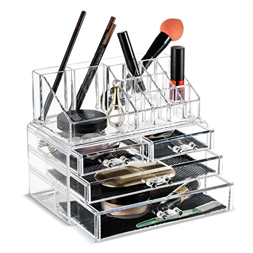 Felicite Home Makeup Cosmetic Organizer Conceal/Lipstick/Eye