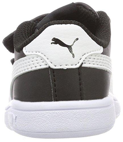 V2 White V Unisex Niños Zapatillas Puma Smash Negro Inf puma Black L puma 5xC771wq