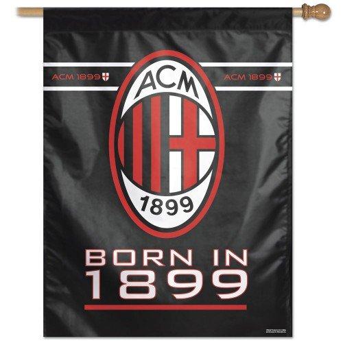 Ac Milan Flag - WinCraft AC Milan House Flag and Banner