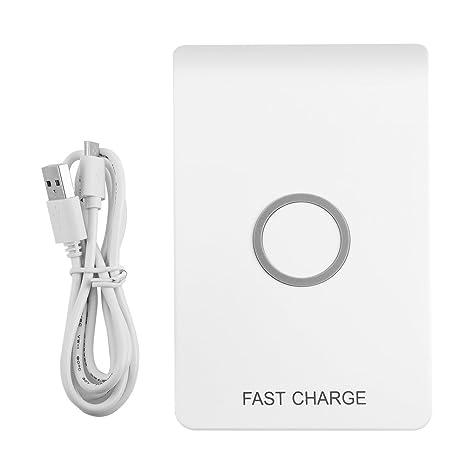 Amazon.com: Richer-R Qi Cargador inalámbrico, portátil Qi ...