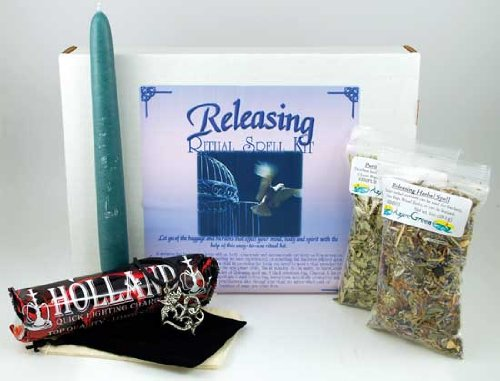 Fortune Telling Toys Boxed Magic Spell Kit Releasing Baggage Mind Body Spirit Be Free by AzureGreen