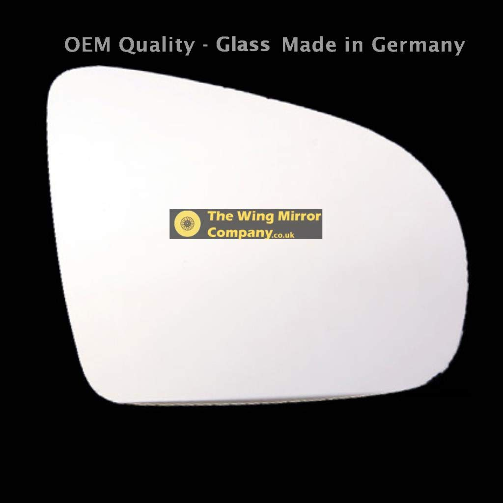 Driver Side VUXHL-Corsa 1993 to 2000 Silver Door//Wing Mirror Glass RH
